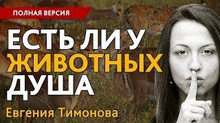 """Евгения Тимонова: """"Есть ли у животных душа?"""". Полная версия"""