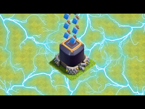 Clash of Clans - Zapping DARK ELIXIR after Update?! - MAX Level Lightning Spell DE Zapping? [PARODY]