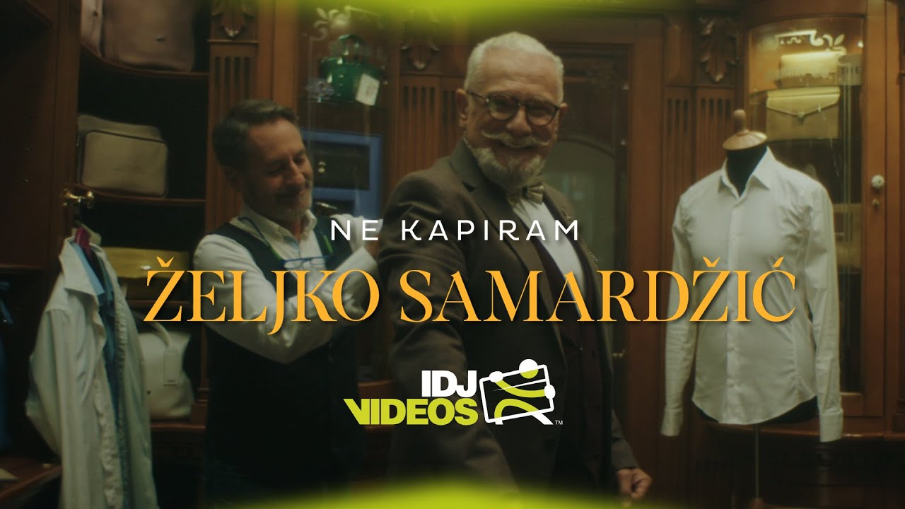 ZELJKO SAMARDZIC - NE KAPIRAM (OFFICIAL VIDEO)