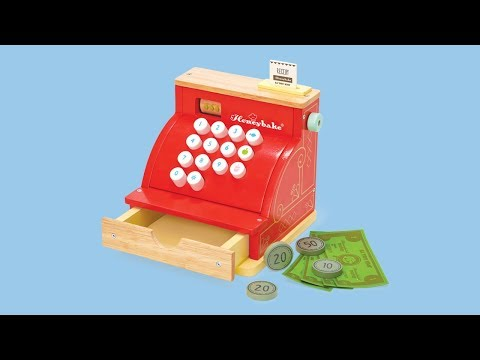 Cash Register | Honeybake© Collection | Le Toy Van | Traditional Wooden Toys