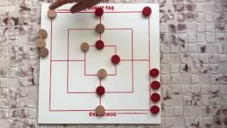 Dokuz taş oyunu nasıl oynanır?