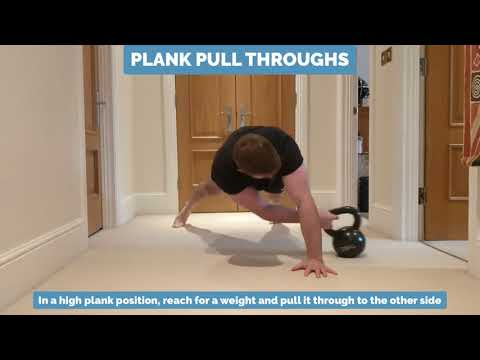 Low Back Exercise - Kettlebell Pull Throughs | Epsom Chiropractor