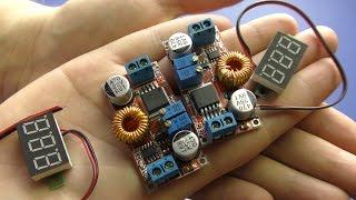 Якісні недорогі регулятори напруги 0-35В і цифрові індикатори з Aliexpress 4k