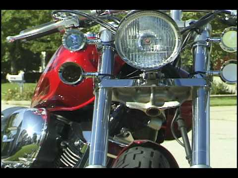Honda Shadow 750 >> 2003 Honda Shadow Spirit 750 - Customized - YouTube