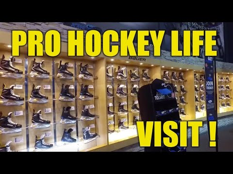 Pro Hockey Life Vaughan Mills Ontario Canada Store Tour - Visit