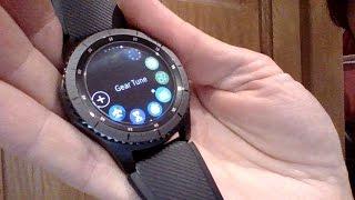 Samsung Gear S3 - TuneIn radio controller app
