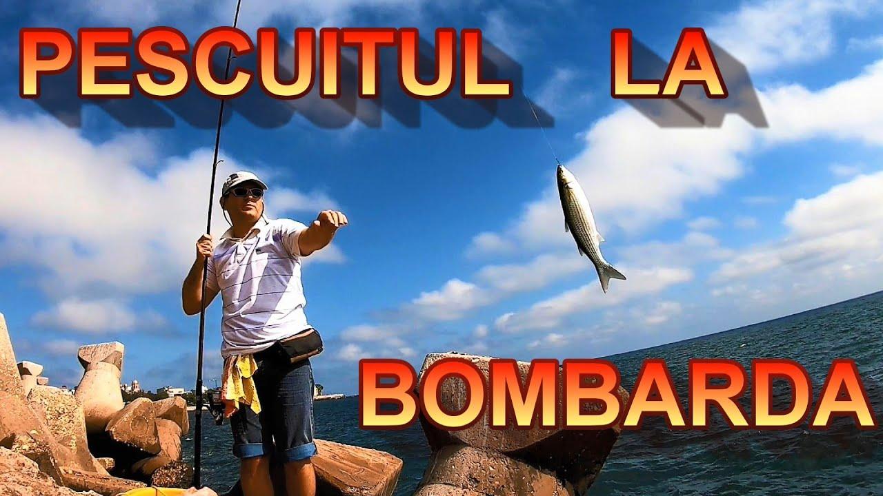 Am pescuit prima oara la  Bombarda in Marea Neagra -  Am prins chefali si i-am prajit.