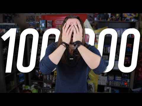 100,000 Subscribers - I don't deserve this.