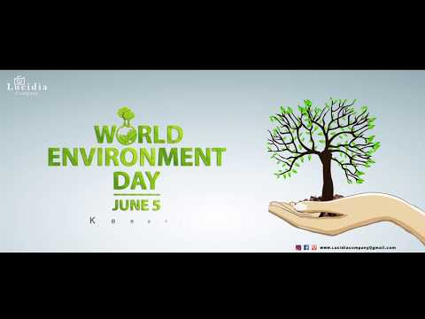 world environment day animation video
