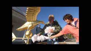 Gold Eagle Weathervane Soars At Tyngsboro Old Town Hall