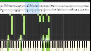 Alicia Keys - Holy War Piano Tutorial (with sheet music)