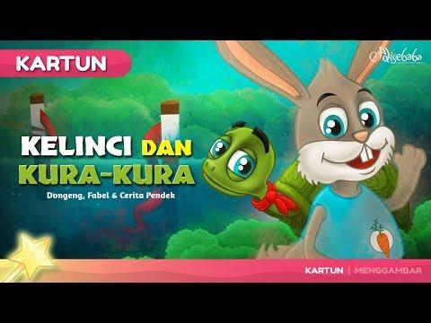 Kelinci Dan Kura Kura Kartun Anak Dongeng Bahasa Indonesia Youtube