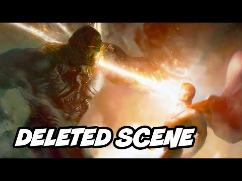 Batman v Superman Justice League Deleted Scene Breakdown