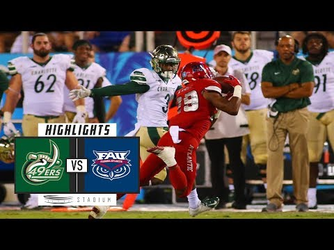 Charlotte vs. Florida Atlantic Football Highlights (2018) | Stadium