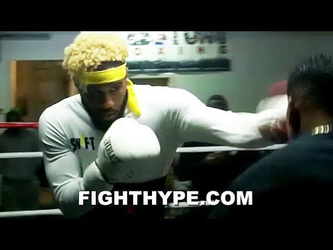JARRETT HURD UNVEILS ARSENAL OF SPEED AND POWER; RIPS OFF COMBINATIONS