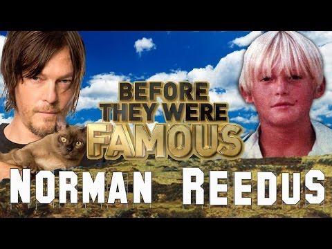 NORMAN REEDUS  Before They Were Famous  THE WALKING DEAD