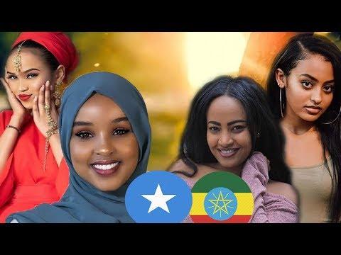 SOMALI Girls vs RWANDAN Girls vs ETHIOPIAN Girls Models