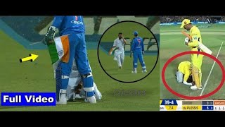 Demi-God Mahendra Singh Dhoni! Fans breached security to touch MS Dhoni's feet | MSDians Dream