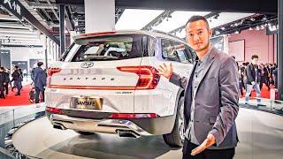 Hyundai Santa Fe 2019 trục cơ sở dài với nhiều trang bị tối tân tại Trung Quốc | XE HAY