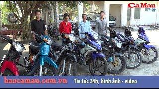 Cà Mau:Triệt xóa nhóm chuyên trộm và tiêu thụ xe mô tô tại địa bàn nông thôn