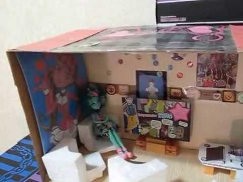 видео: Куклы Монстер Хай и домик