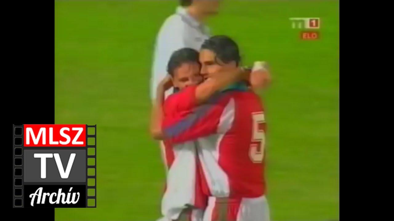 Magyarország-Grúzia | 4-1 | 2001. 06. 06 | MLSZ TV Archív