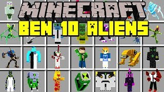 Minecraft ULTIMATE BEN 10 MOD! | TRANSFORM TO ULTIMATE ALIENS & MORE! | Modded Mini-Game