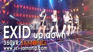 [360 VR 4K] K-pop, EXID, up-down, 2015 Daegu CHIMAC Festival.