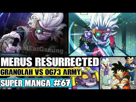 MERUS RESURRECTED! Granolah The Survivor Finds OG73! Dragon Ball Super Manga Chapter 67 Review