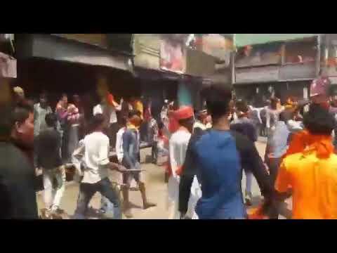 Hindu Muslim danga in Raniganj West Bengal at Ramnavami Rally 2018