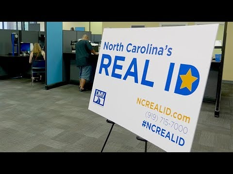 Nc real id replace passport