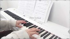 BTS 방탄소년단   Not Today   Piano Cover