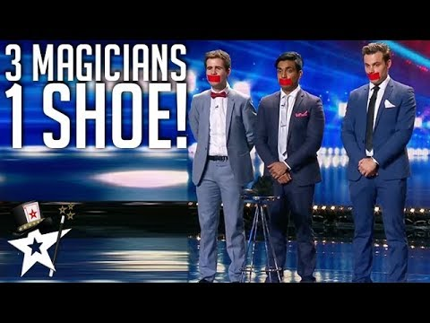 What Magicians Can Do With One Shoe! | Magician's Got Talent