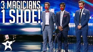 What Magicians Can Do With One Shoe! | Magician's Got Talent Video
