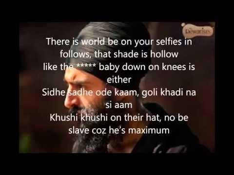 Desi Hip Hop lyricsOfficialDesi Hip HopLyricsFt Manj Musik, Raftaar, Badshah, Raxstar