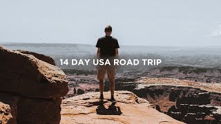 The 14 Day America Road Trip | Sony A6300 USA Travel Video