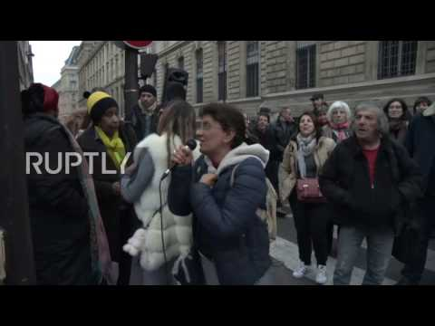 France: Police clear 400 protesters occupying Paris building