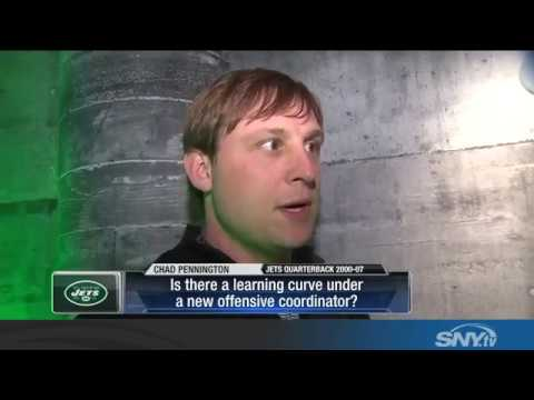 Chad Pennington talks about the future at QB for the Jets