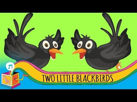 Two Little Blackbirds | Animated Karaoke