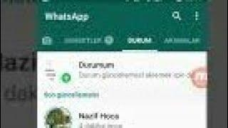 Whatsapp kendi ismimi ve resmi nasil değiştirim profil ve grupta görünen hakkında yazısı ayarla wp Video