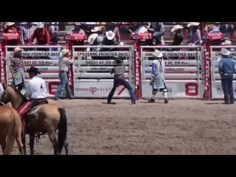 Cheyenne Frontier Days Rodeo 2016 Youtube