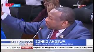 Sonko: I will comply and appoint a Deputy Governor once the Senate passes a law that guides me
