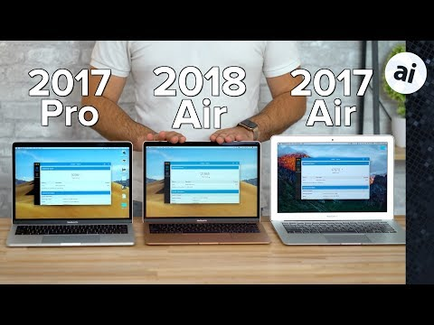 "2018 MacBook Air vs 13"" MacBook Pro & Old MacBook Air Mp3"