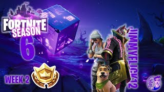 Fortnite Week 2 Season 6 secret battle star/flag