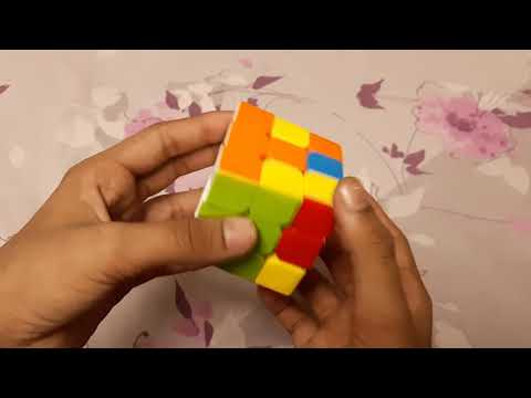 How to solve 3×3×3 rubiks cube in hindi