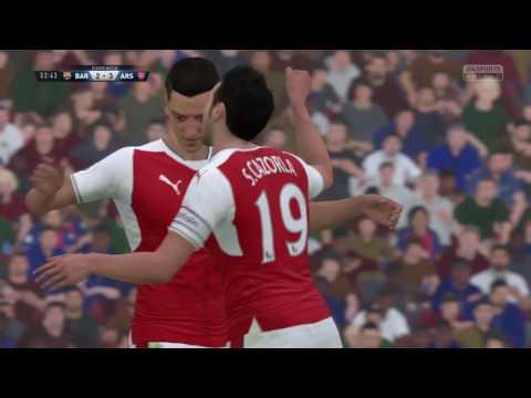 FIFA 17 Mesut Özil tricks and goal