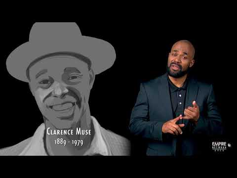 African American History Month  Clarence Muse