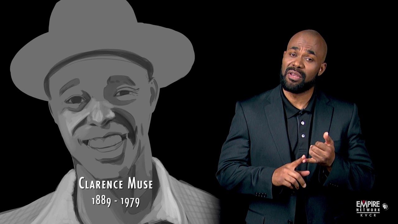 African American History Month - Clarence Muse