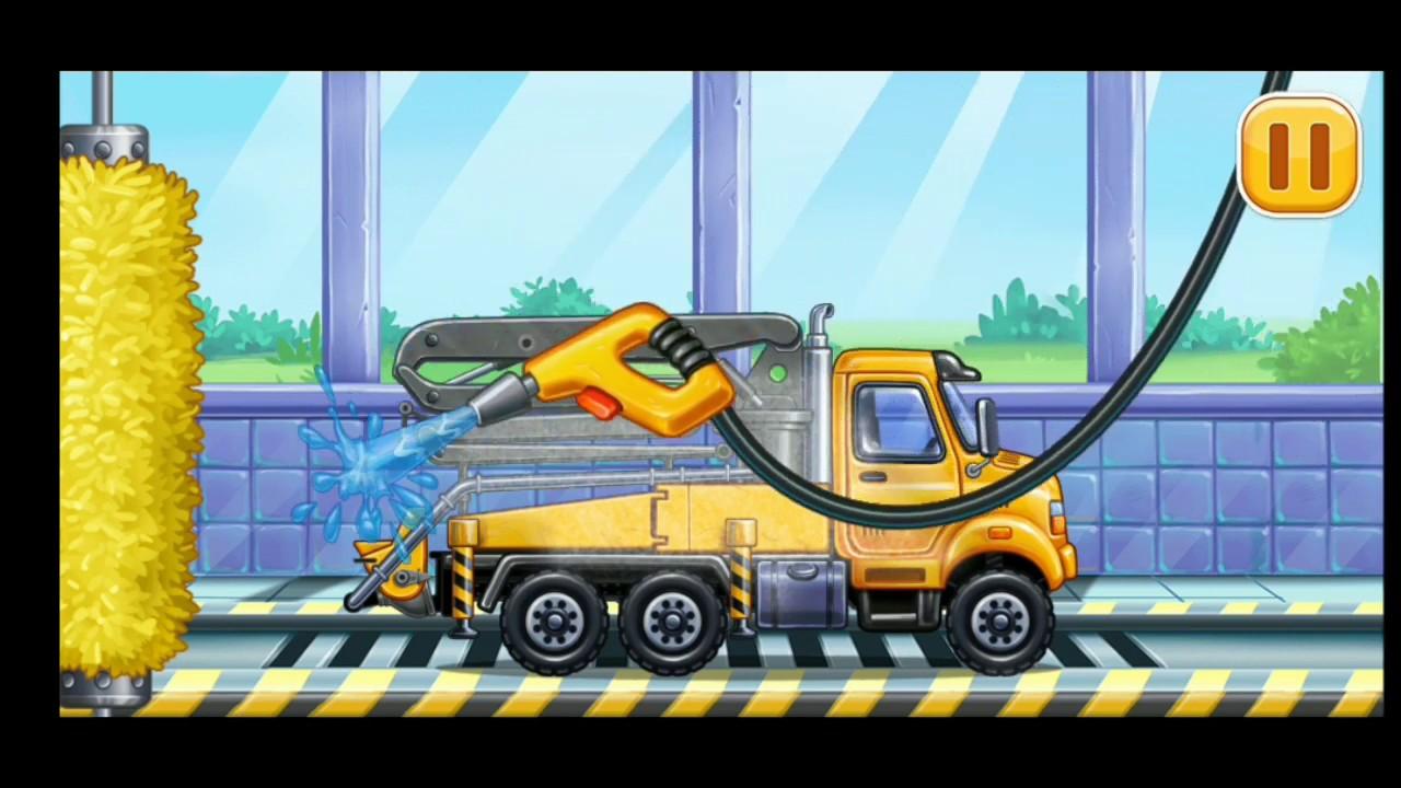 #trícontainer | #trícontainergame | Ô tô máy xúc xây nhà – game vui