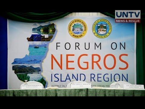 President Duterte orders to dissolve the Negros Island Region 15